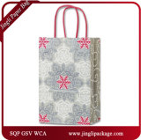 Free Spirit Shoppers Venta al por mayor Media Navidad Holiday Printing Papel de Arte Promocional Gift Bags