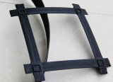 凸ノード鋼鉄プラスチックGeogridの棒ストリップ鋼鉄プラスチックGeogrid