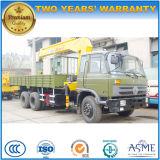 Le camion de boum de Dongfeng 6*4 a monté avec le camion de grue de XCMG pour l'exportation