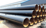 Tubo de acero X65, tubo del API 5L Psl1 X60, X52 línea negra tubo de LSAW