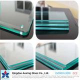 建物のための明確な平たい箱の強くされるか、または緩和されたガラスかシャワーまたは浴室