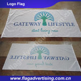 フルカラーPrinting Polyester Fabric Banner、Advertizing Banner、Companyの旗