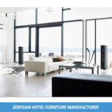 Couro confortável superior moderno L sofá do hotel da forma (SY-BS6)
