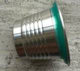 Acero inoxidable cápsula reutilizable/recargable de S/S del café para Nespresso