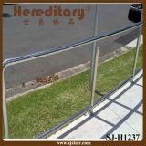 Balaustre lateral del acero inoxidable del montaje para el balcón (SJ-S334)