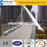 Rohr-Binder einfaches China und installieren schnell Stahlkonstruktion-Bogen-Brücke