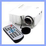 MiniProtable Digital Projektor des Projektor-Uc28 des Ausgangsled unterstützt HDMI/USB/VGA/IR/SD Karte