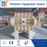 Nueva prensa 2017 de filtro de membrana de China para el tratamiento de aguas residuales de la materia textil
