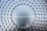 En124 D400 Resin FRP Composite Locking System Manhole Cover com Shockproof Rubber Sealing