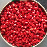 Que sopla color rojo plástico Masterbatch (CM-S010) de la película