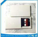 皮質の創造的なカードケースビジネスホルスターから続く普及したロゴTbのカードのパッケージiPhone7