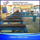 Робот вырезывания плазмы луча наклона h для стального пакгауза