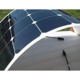 PV van de Cellen van Sunpower van de dunne Film het Mono Semi Flexibele Zonnepaneel van de Module 100watt