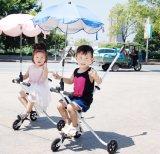 Pushbar 아기 Foldable 유모차를 가진 새로운 장난감 아이 아이들 세발자전거