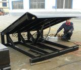 rampa de carregamento hidráulica elétrica do recipiente 12t