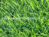 Hierba artificial para ajardinar de los lugares del ocio