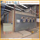 Nuevo horno de ladrillos encendido de la arcilla del horno de túnel del ladrillo de la tecnología avanzada