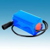 Batterie-Satz 7.4V 6000mAh Rechargerable Li-Ionbatterie der Lithium-Ionbatterie-18650