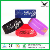 Wristband del silicone del Rainbow personalizzato