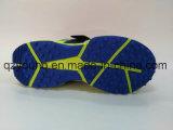 조련사가 파키스탄 Mens에 의하여 전부 더 둥근 고무 유일한 귀뚜라미 구두를 신긴다