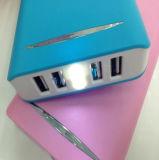 la Banca portatile di potere di capienza enorme 20800mAh con il caricatore del telefono mobile del USB 4