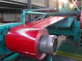 Les bobines de PPGI, colorent la bobine en acier enduite, bobine en acier galvanisée enduite d'une première couche de peinture