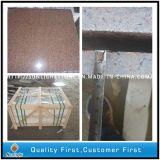 Mattonelle di pavimentazione rosse Polished naturali del granito di Tianshan di sconto
