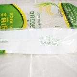 Sachet en plastique tissé par pp de riz, farine, sucre, les graines, graine