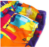 Micro Shorts personalizados Hotsales Newstyle por atacado da praia do Twill da fibra