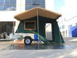 assoalho duro de 7X5ft fora do reboque de campista de acampamento da estrada com acampamento novo da caravana nova independente da suspensão 4X4 4WD