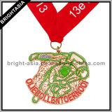 Sporten Medallion met Medal Ribbon voor Running (byh-10857)