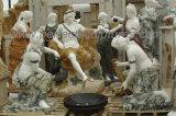 Intagliando la scultura di pietra della statua di marmo per la decorazione del giardino (SY-X1722)