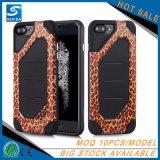 Роскошное животное iPhone 7 аргументы за телефона печати леопарда способа