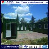 Дома 3 Prefab контейнера модульные в 1 складном укрытии