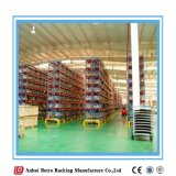 Estante del supermercado del estándar internacional de China que hace publicidad de la visualización