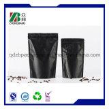 Fastfood- Kaffee-Beutel mit Reißverschluss und Ventil