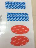 Etiket van de Prijs van de fabriek het Nietige Privé met Open Leegte voor de Bescherming van het Merk