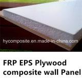 El panel de pared compuesto de la madera contrachapada de FRP EPS para las aves de corral