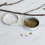 жестяная коробка чая качества еды 150g алюминиевая