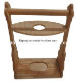 Лидирующий несущая вина древесины сосенки подгонянная держателем деревянная