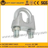 Bride malléable de câble métallique DIN 741