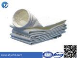 Bolso de filtro del fieltro del poliester de la tela del filtro para el surtidor caliente de la venta