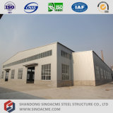 Полуфабрикат светлая конструкция мастерской стальной структуры