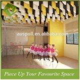 квадратные красивейшие плитки потолка дефлектора Multi-Цветов 300h*300L