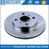Bâti de précision de cire détruit par investissement automatique de retrait de pdf de pivot de rotor de disque de frein de pivot de Ts16949 /Automotive