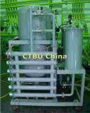 en la línea máquina del purificador de petróleo del transformador