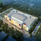 Shouguang Wandaの広場の建築レンダリングのプロジェクト