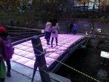 LED 3D 무한한 댄스 플로워
