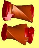 Banburyのミキサーの内部ミキサー(X M-50、X (S) M-75/40、X (S) M-160、X (S) M-250/20)