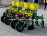 Piantatrice del cereale con differenti righe
